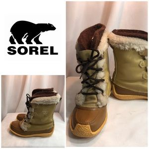Sorel Snow Boots — In Great Condition!